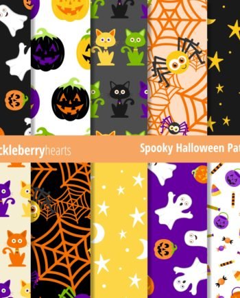Sample of Downloadable and Printable Halloween Patterns