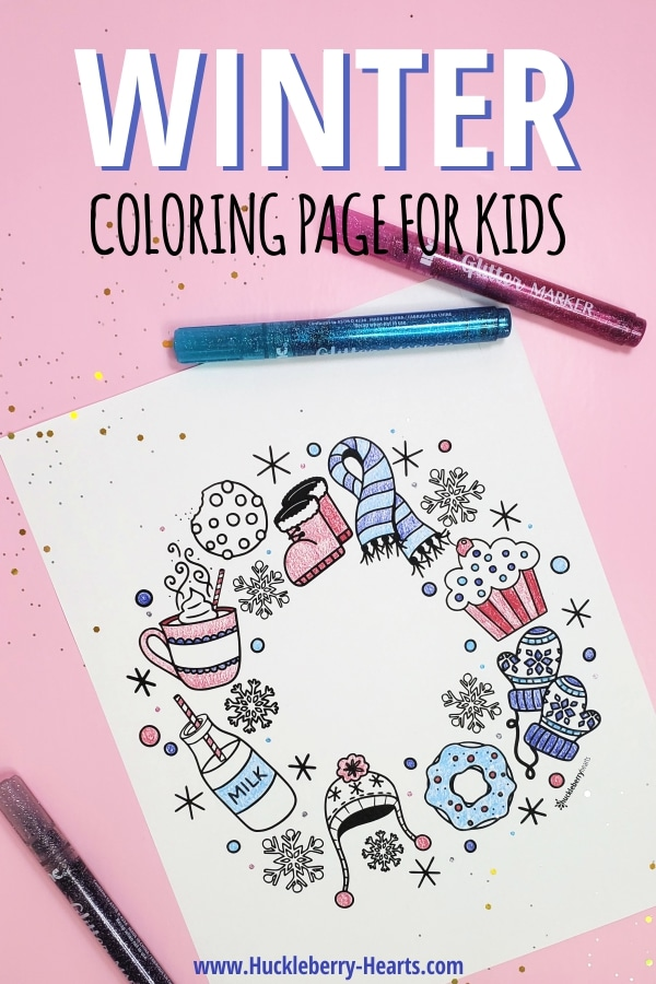 free printable coloring page for kids