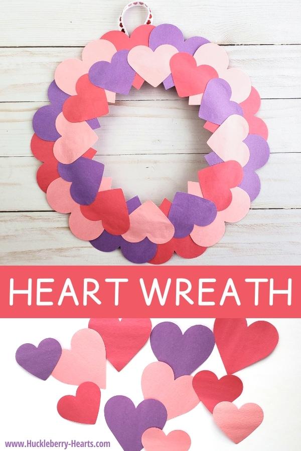 Paper Plate Valentine Wreath