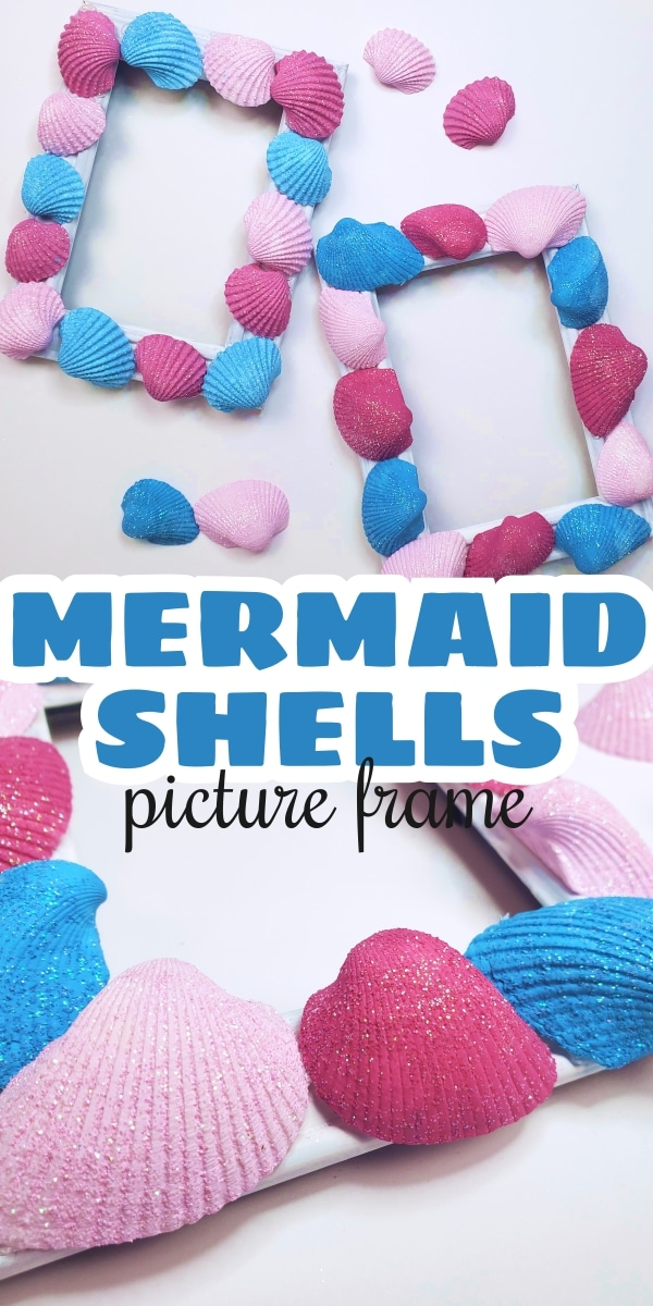 How to Make Seashell Picture Frames