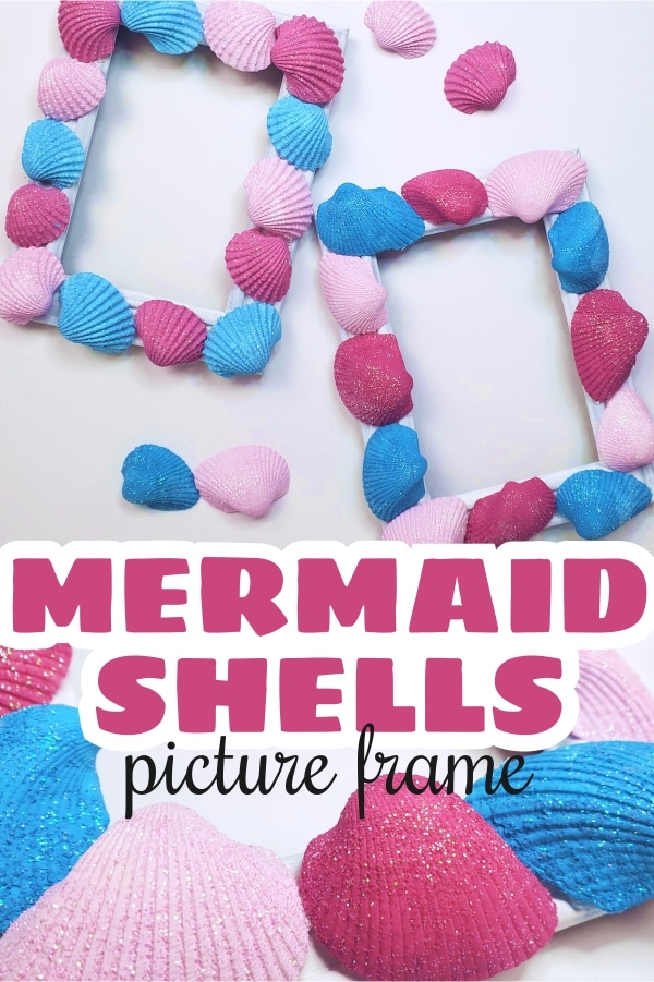How to make sea shell picture frames