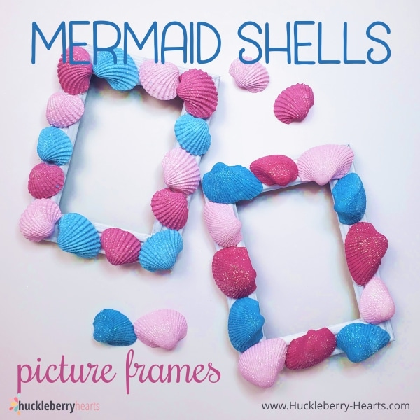 Mermaid Shells Picture Frames