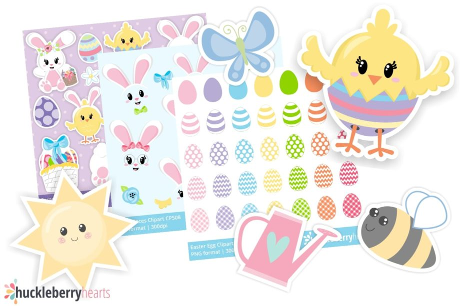 Assorted Easter Clipart