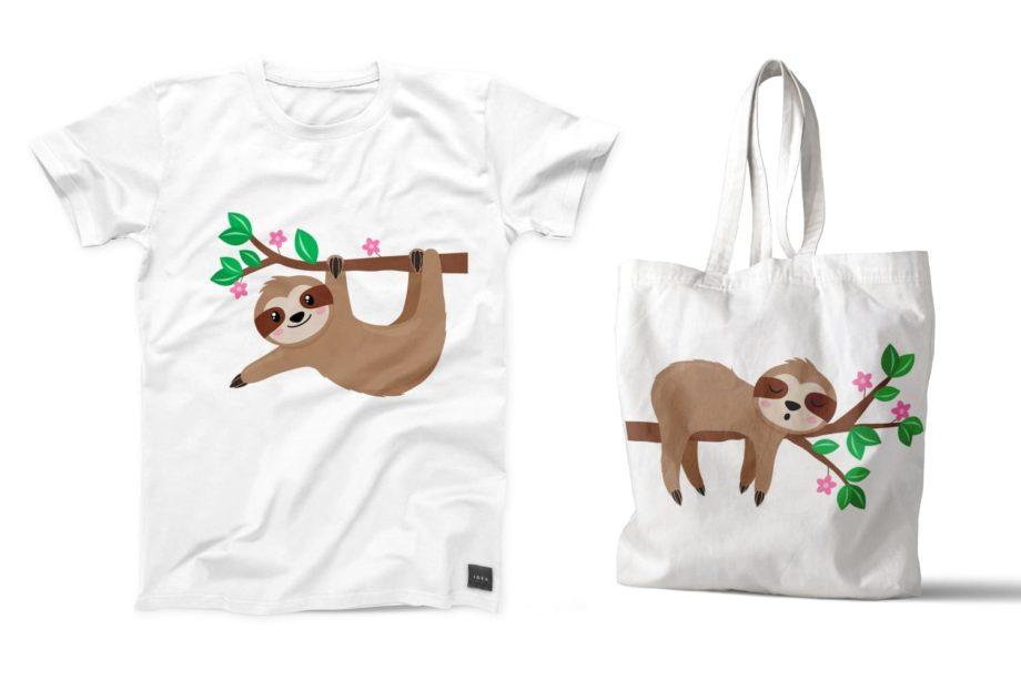 Sloth Clipart Sample 5