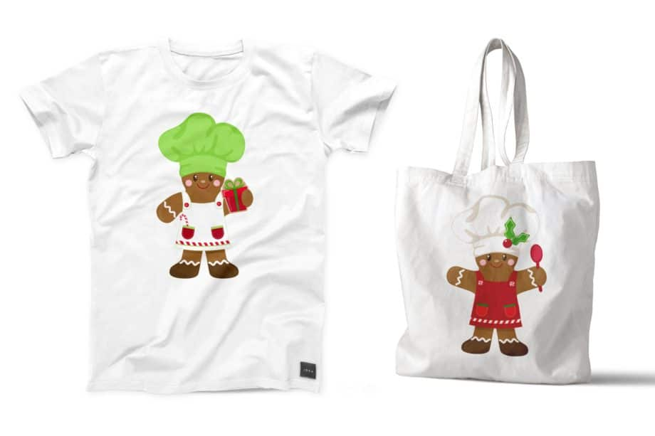 Gingerbread Chef Clipart Sample 5