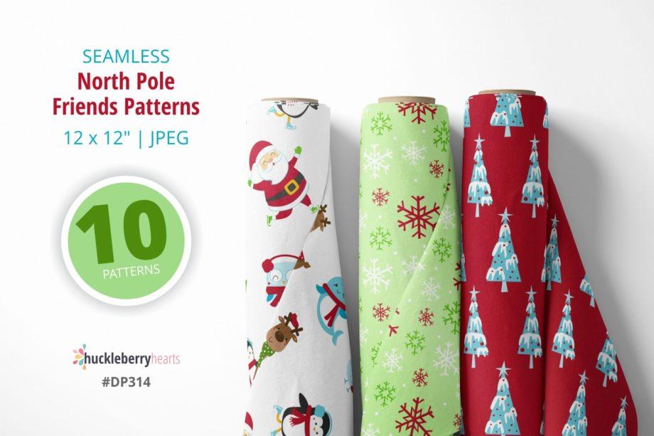 North Pole Friends Patterns Sample 5