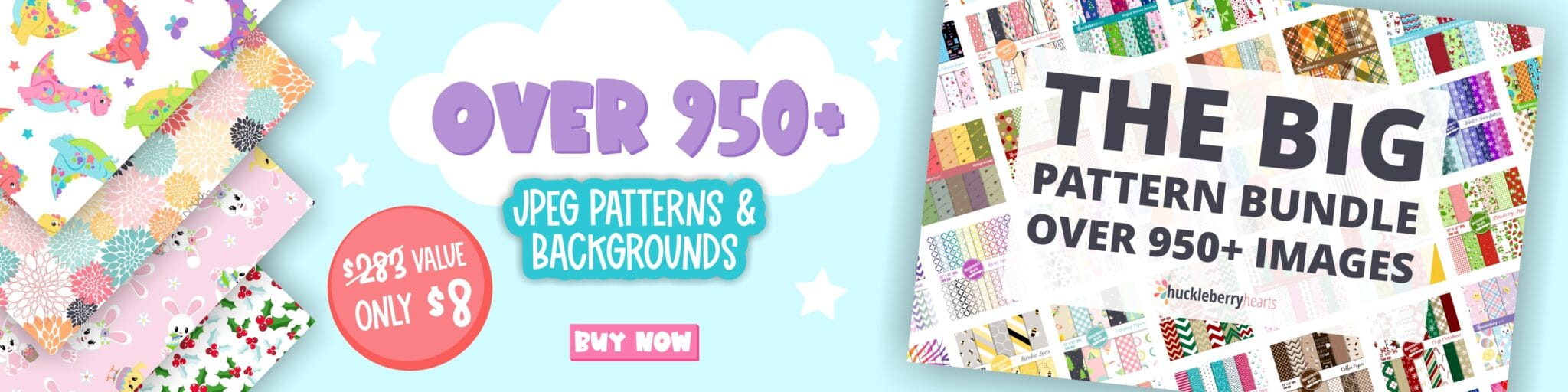 Assorted Pattern and Backgrounds Bundle Pack