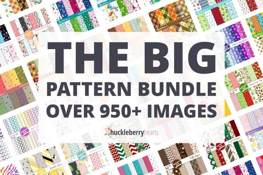Digital Background Pattern Bundle