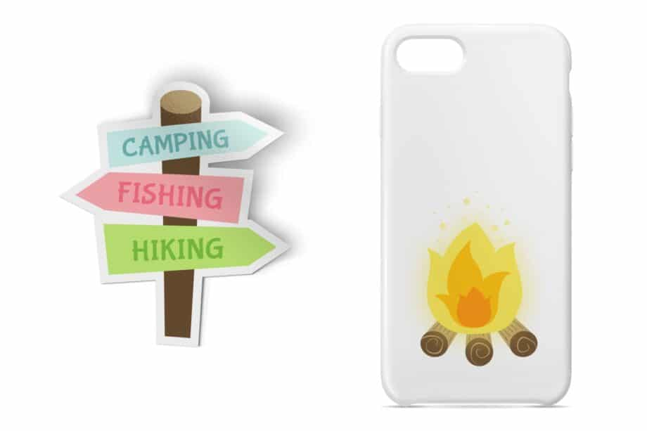 Camping Clipart Sample 4