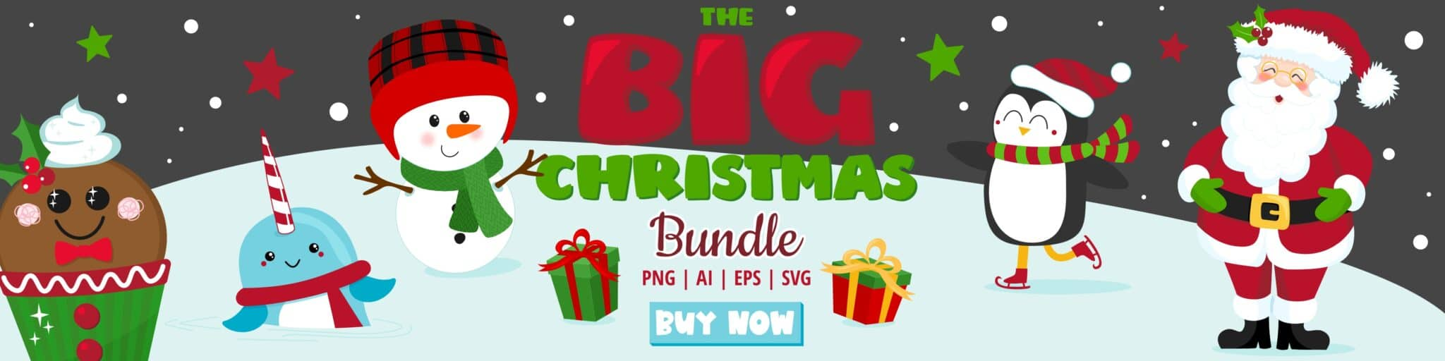 Assorted Christmas Clipart Bundle Pack