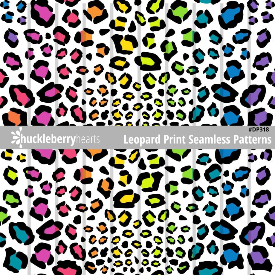 Assorted Seamless Leopard Print Images