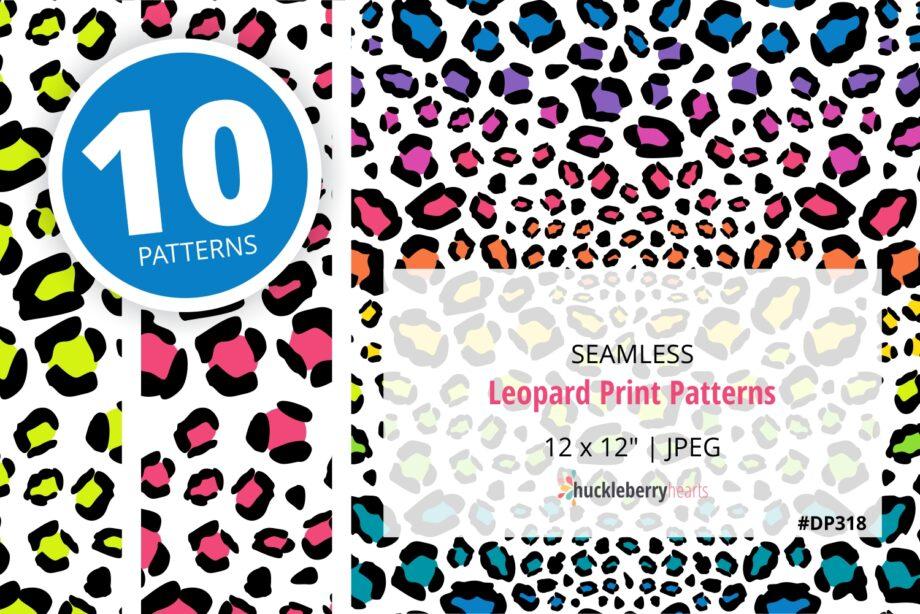 Leopard Print Seamless Patterns Sample 2