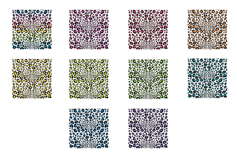 Leopard Print Seamless Patterns Sample 3