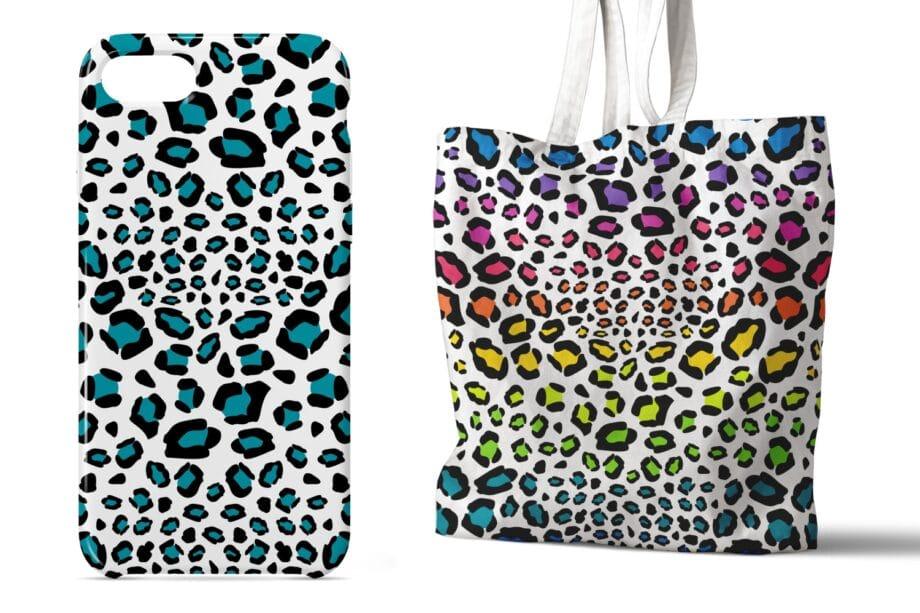 Leopard Print Seamless Patterns Sample 4