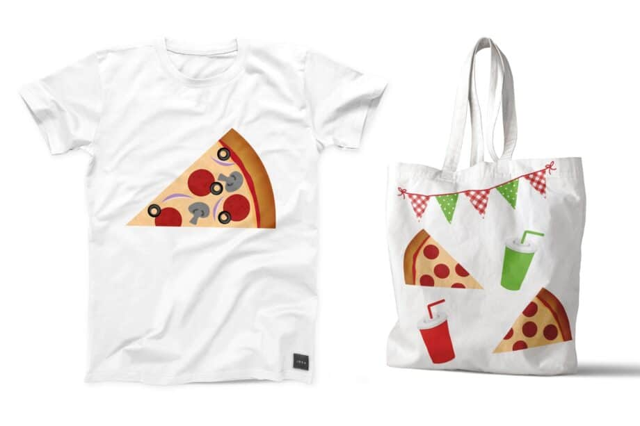 Pizza Party Clipart Sample 5