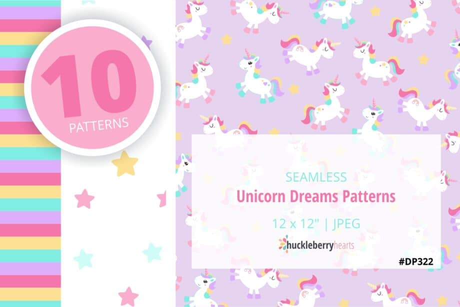 Unicorn Dreams Paper Sample 2