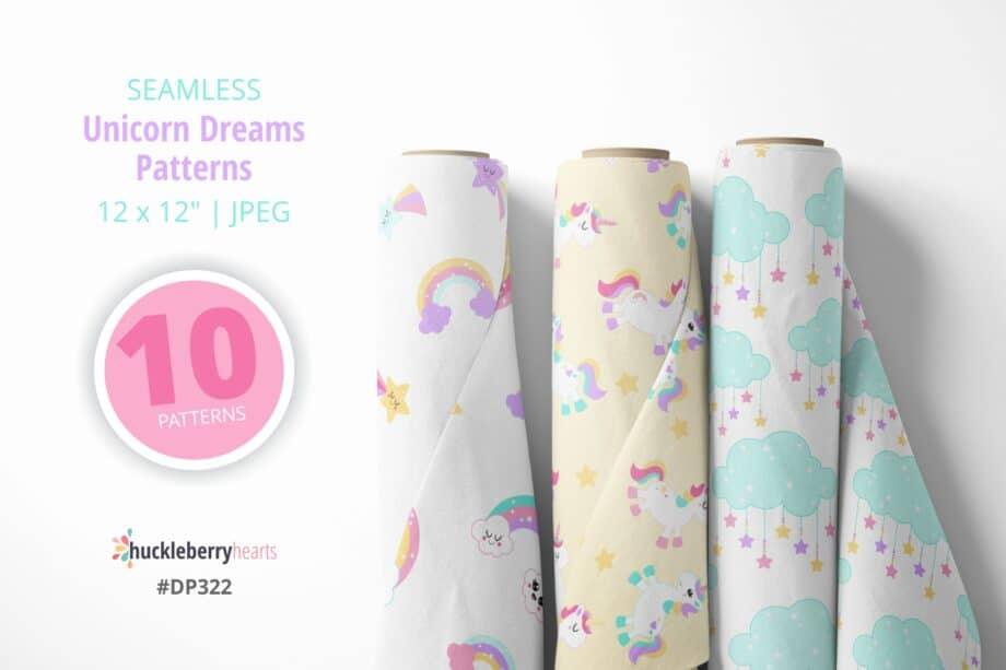Unicorn Dreams Paper Sample 4