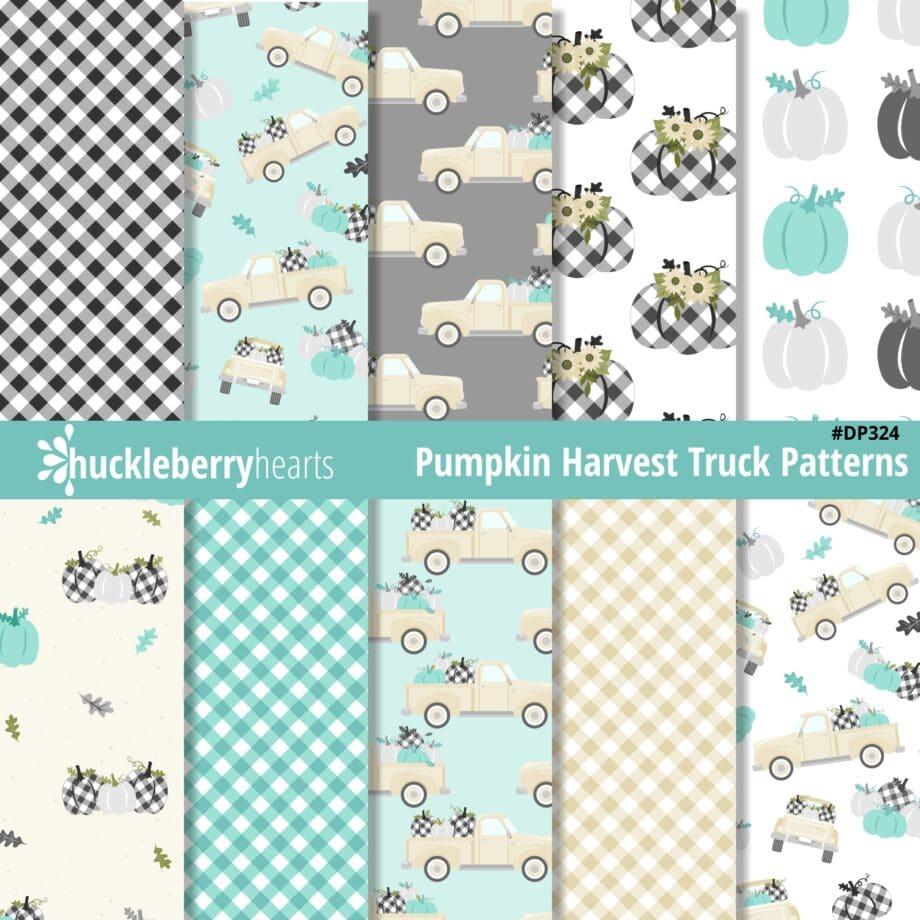 Pumpkin Harvest Truck Patterns