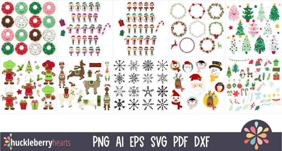 Mega Christmas Crafting Bundle Sample 3